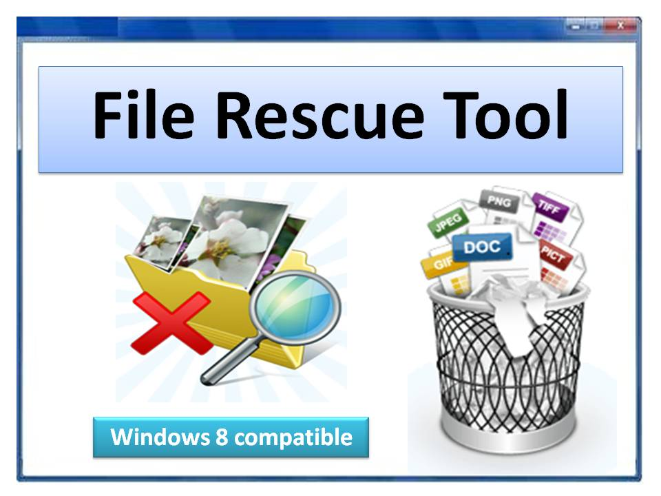 File Rescue Tool to recover files on Windows